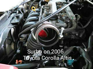 More engine power for Toyota Corolla Altis