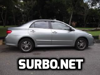 : Surbo fitted in pipe after air filter of Toyota Corolla Altis 2010